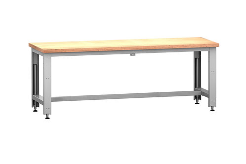Cubio  Adj Height Frame Multiplex Bench 2000 x 750 x 1140mm