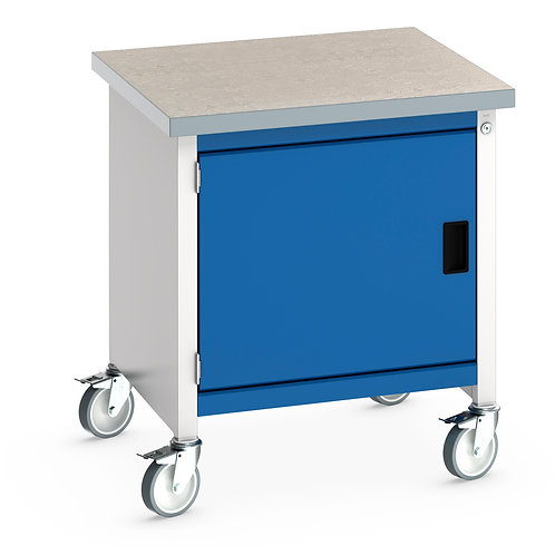 Cubio Mobile Storage Bench (Lino) 750 x 750 x 840mm