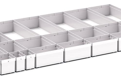 Cubio Plastic Box Divider Kit 24 Comp 925 x 525 x 68mm
