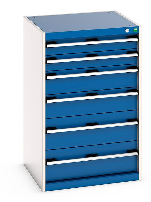 Cubio Drawer Cabinet 650 x 650 x 1000mm