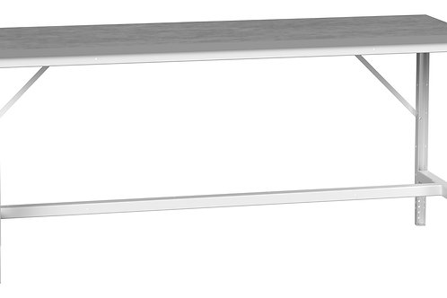 Verso Adj. Height Bench Lino 2000 x 600 x 930mm