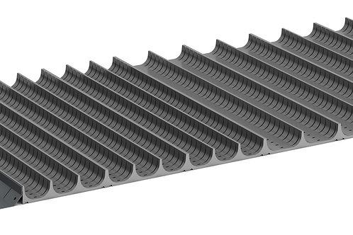 Cubio Trough Block Divider Kit 68 Compartment 1175 x 525 x 28mm