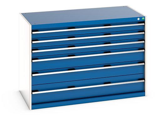 Cubio Drawer Cabinet 1300 x 750 x 900mm