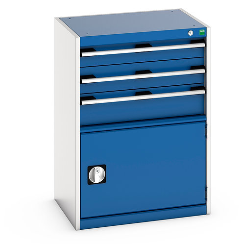 Cubio Drawer Cabinet 650 x 525 x 900mm