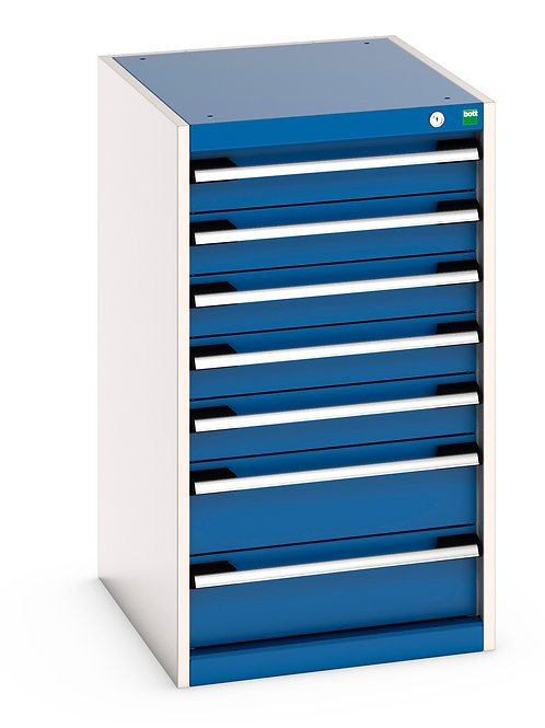 Cubio Drawer Cabinet 525 x 650 x 900mm