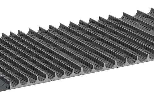 Cubio Trough Block Divider Kit 84 Compartment 1175 x 525 x 28mm