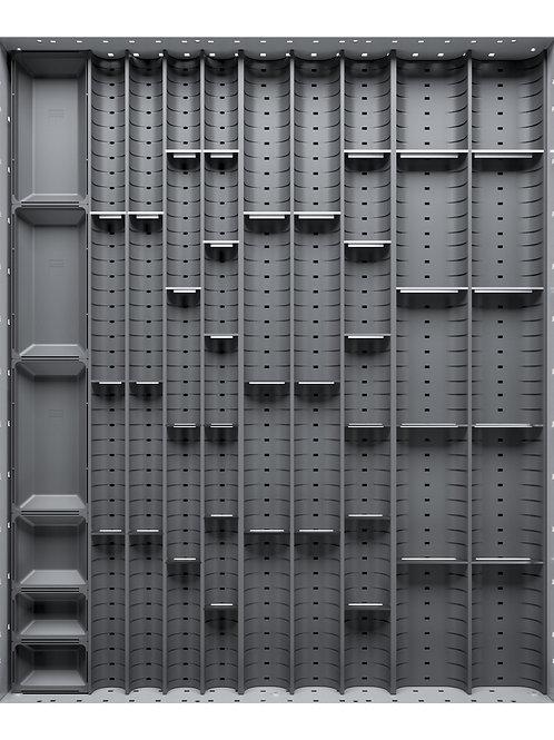 Cubio Trough Block Divider Kit 46 Compartment 525 x 625 x 28mm