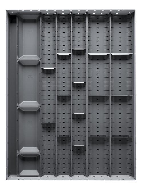 Cubio Trough Block Divider Kit 20 Compartment 400 x 525 x 28mm