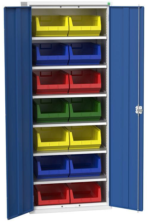 Verso Bin Cupboard 800 x 550 x 2000mm
