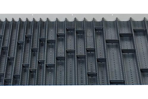 Cubio Trough Block Divider Kit 74 Compartment 925 x 625 x 28mm
