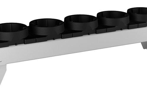 CNC Tool Carrier HSK A100 590 x 125 x 110mm