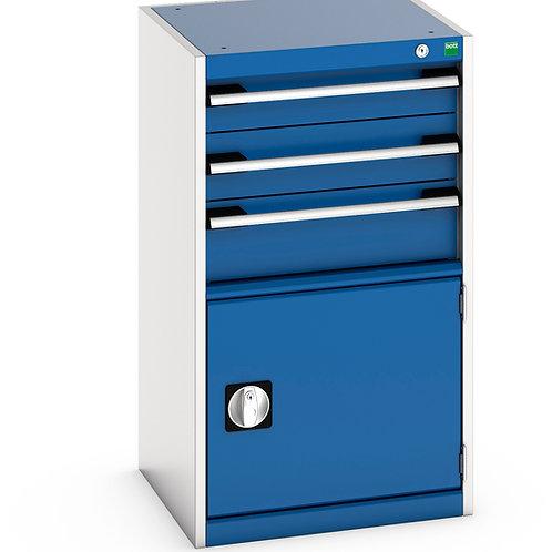 Cubio Drawer-Door Cabinet 525 x 525 x 900mm