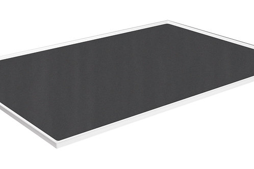 Cubio Top Tray With Inlaid Mat 1300 x 750 x 15mm