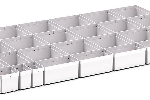 Cubio Plastic Box Divider Kit 29 Comp 925 x 525 x 68mm