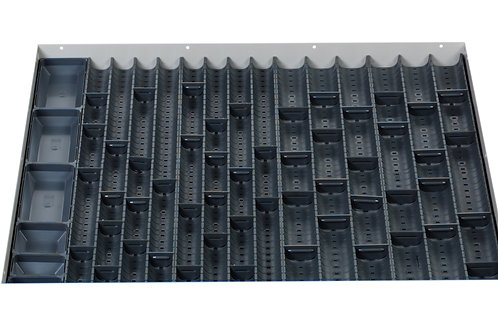 Cubio Trough Block Divider Kit 70 Compartment 675 x 625 x 28mm
