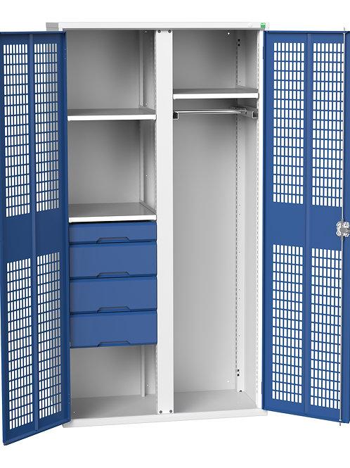 Verso Ventilated Door Kitted Cupboard 1050 x 550 x 2000mm