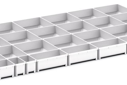 Cubio Plastic Box Divider Kit 29 Comp 925 x 525 x 50mm
