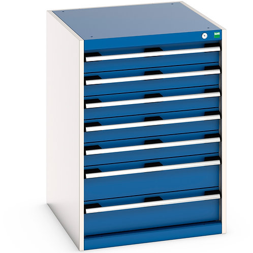 Cubio Drawer Cabinet 650 x 750 x 900mm