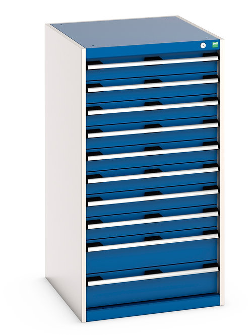 Cubio Drawer Cabinet 650 x 750 x 1200mm