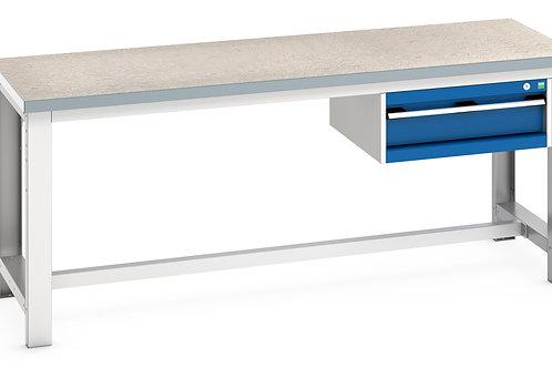 Cubio Framework Bench (Lino) 2000 x 750 x 840mm