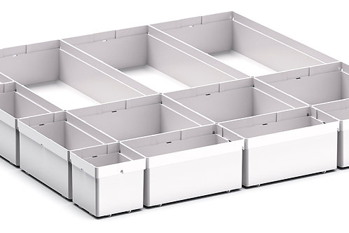 Cubio Plastic Box Divider Kit 13 Comp 525 x 525 x 68mm