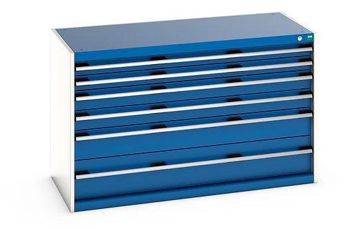 Cubio Drawer Cabinet 1300 x 650 x 800mm