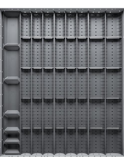 Cubio Trough Block Divider Kit 41 Compartment 525 x 625 x 28mm