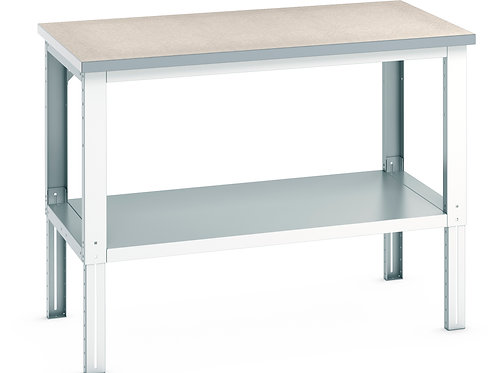 Cubio Framework Bench Adj Height (Lino) 1500 x 900 x 1140mm