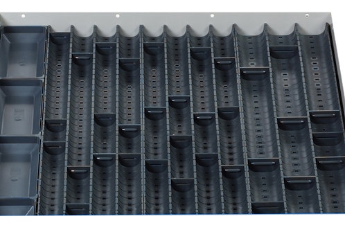 Cubio Trough Block Divider Kit 44 Compartment 525 x 525 x 28mm