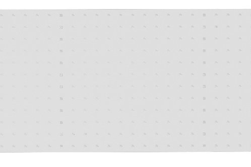 Verso Cupboard Perfo Backpanel Kit 1270 x 13 x 457mm