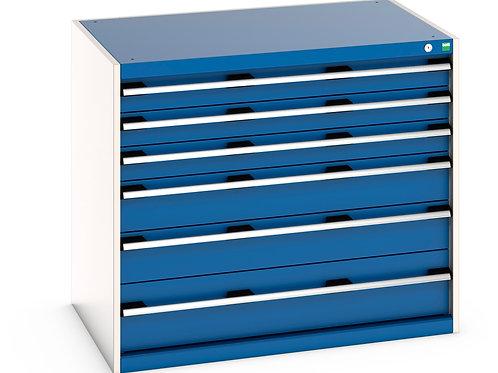 Cubio Drawer Cabinet 1050 x 750 x 900mm