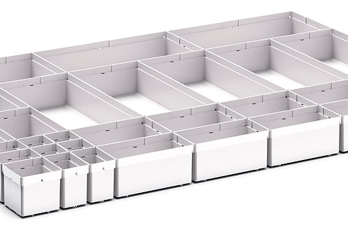 Cubio Plastic Box Divider Kit 33 Comp 925 x 675 x 68mm
