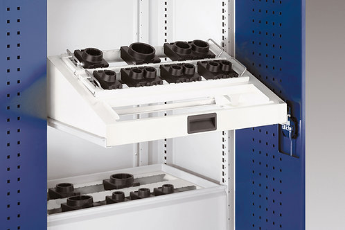 Cubio CNC Sliding Shelf - Tool Carriers 675 x 400 x 220mm