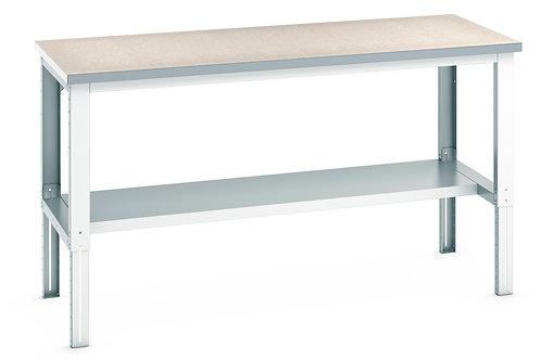 Cubio Framework Bench Adj Height (Lino) 2000 x 900 x 1140mm