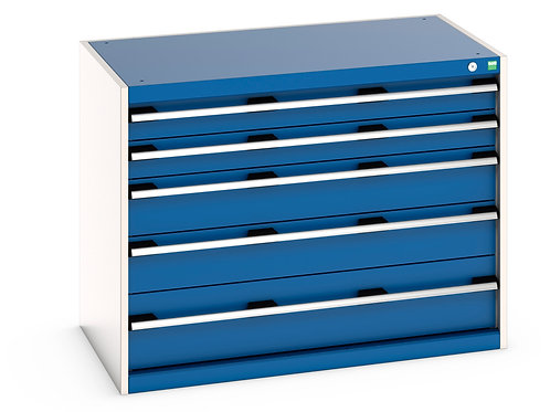 Cubio Drawer Cabinet 1050 x 650 x 800mm