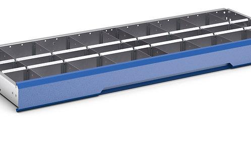 Verso Adjustable Metal Divider Kit 1175 x 430 x 77mm