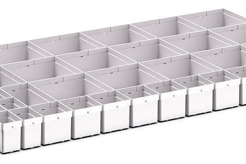 Cubio Plastic Box Divider Kit 43 Comp 925 x 525 x 68mm