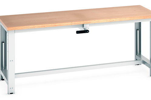 Cubio  Adj Height Frame Multiplex Bench 2000 x 750 x 1140mm