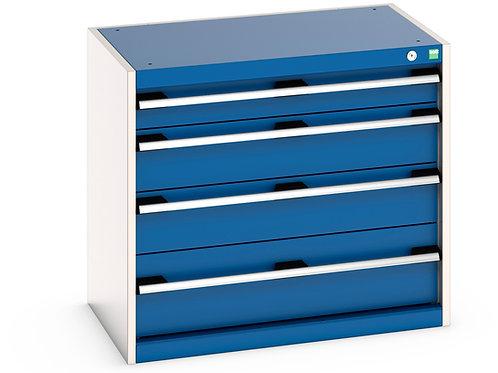 Cubio Drawer Cabinet 800 x 525 x 700mm