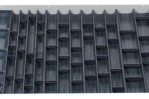 Cubio Trough Block Divider Kit 60 Compartment 675 x 625 x 28mm