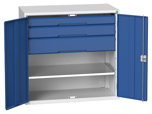 Verso Kitted Cupboard 1050 x 550 x 1000mm