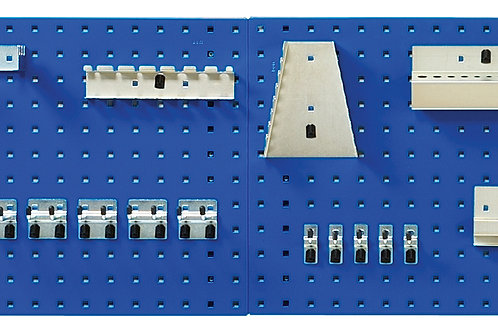 Perfo Panel And Hook Kit 2 x 0.5M - 15 Hook Kit