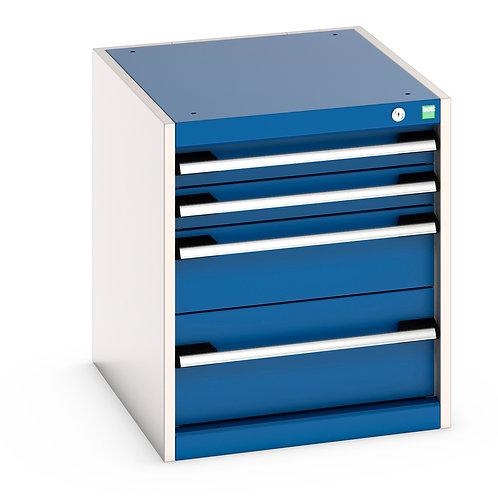 Cubio Drawer Cabinet 525 x 650 x 600mm