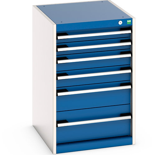 Cubio Drawer Cabinet 525 x 650 x 800mm