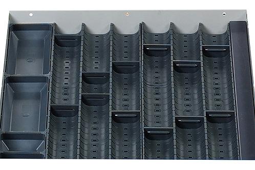 Cubio Trough Block Divider Kit 18 Compartment 400 x 400 x 28mm