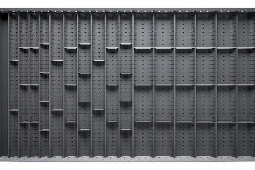 Cubio Trough Block Divider Kit 64 Compartment 925 x 525 x 28mm