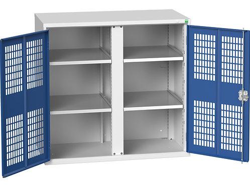 Verso Ventilated Door Kitted Cupboard 1050 x 550 x 1000mm