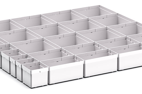 Cubio Plastic Box Divider Kit 27 Comp 675 x 675 x 68mm