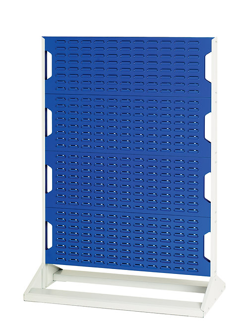 Louvre Panel Rack Single Sided 1000 x 550 x 1450mm