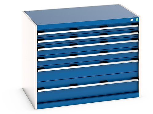 Cubio Drawer Cabinet 1050 x 750 x 800mm